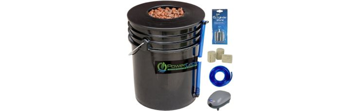 Deep Water Culture (DWC) Hydroponic Bucket Kit 5 Gallon, 6inch